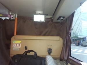 JR高速バス・プレミアムシート前方