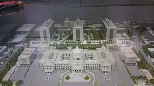 国会議事堂模型