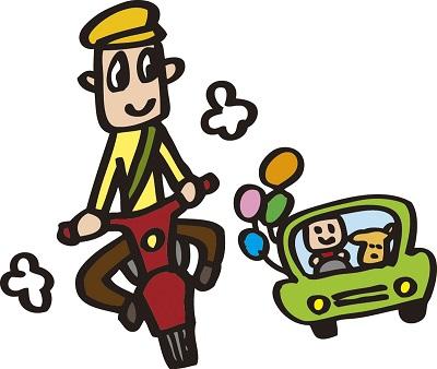 自転車で赤切符は前科?警告カードとの違い2