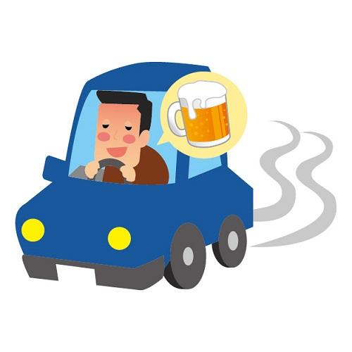 酒気帯び運転と酒酔い運転の違い?自転車は?