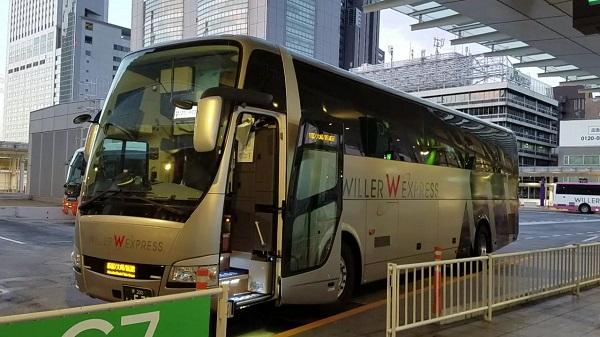 ウィラー リボーン バス